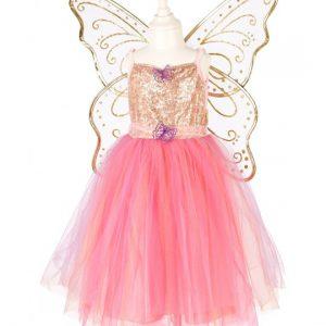 Abito, regina delle farfalle, abito+ali