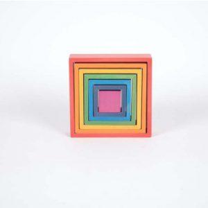 quadrato arcobaleno